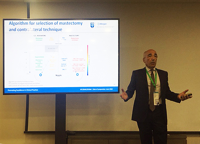 Prof. Nava in Berlin for an exciting meeting on reconstructive and cosmetic surgery of the breast GRETA ONCOPLASTIC MILANO NAPOLI CATANIA